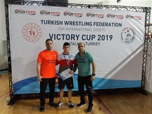 رقابت های بین المللی کشتی آزاد و فرنگی نوجوانان جام پیروزی- ترکیه 1