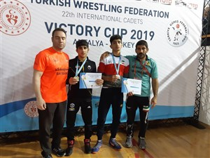 رقابت های بین المللی کشتی آزاد و فرنگی نوجوانان جام پیروزی- ترکیه 3