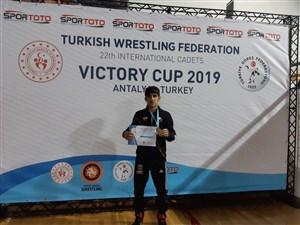 رقابت های بین المللی کشتی آزاد و فرنگی نوجوانان جام پیروزی- ترکیه 7